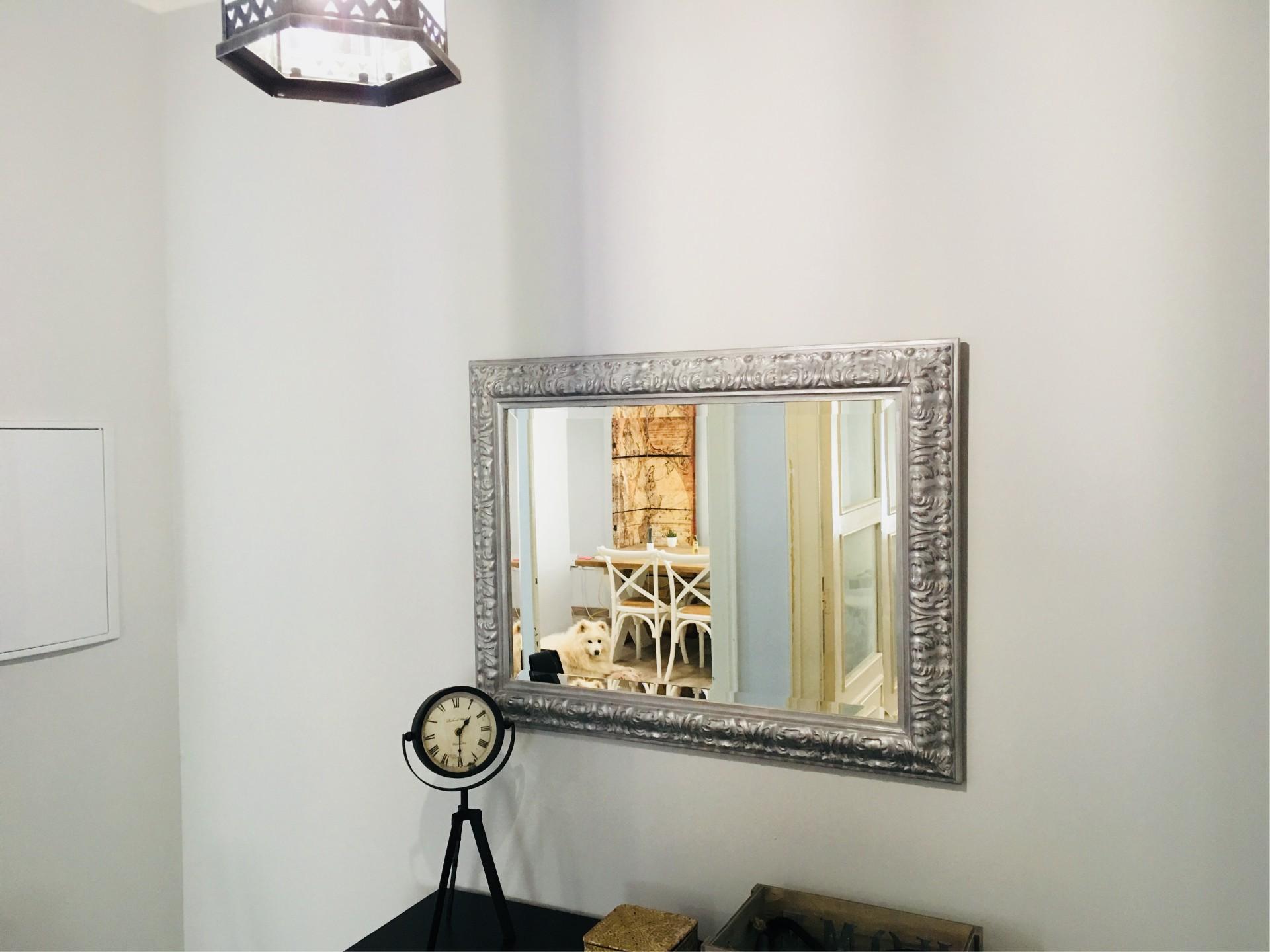 Restauración de un espejo antigüo