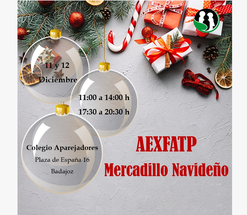 Mercadillo navideño de Aexfatp